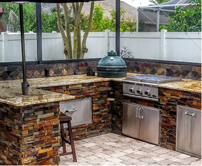 Outdoor kitchens in san antonio tx h3o water systems for Outdoor kitchen designs san antonio