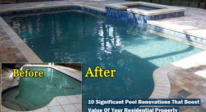 pool renovations San Antonio